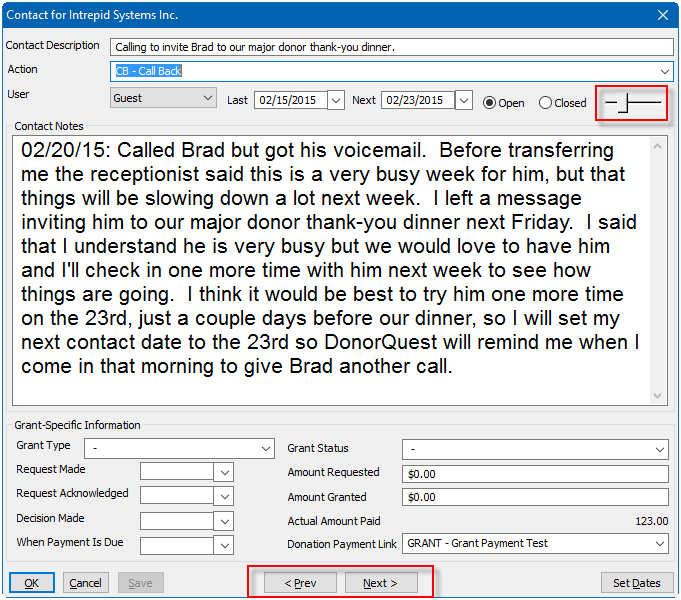 Contact Manager Form